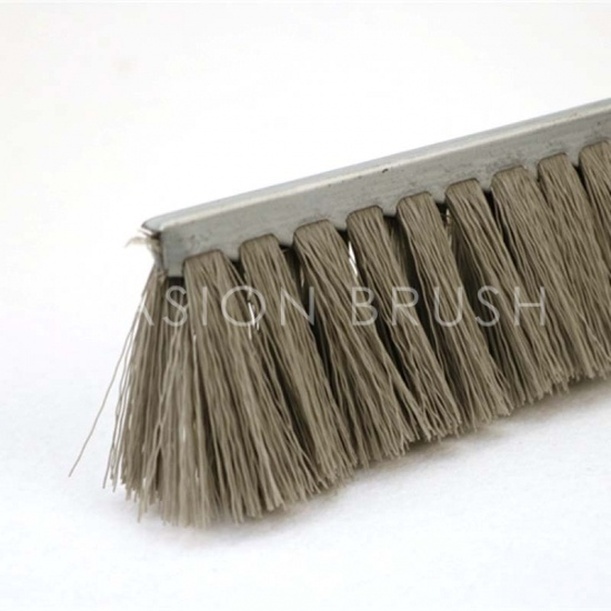 Polishing and Cleaning double steel base strip brush