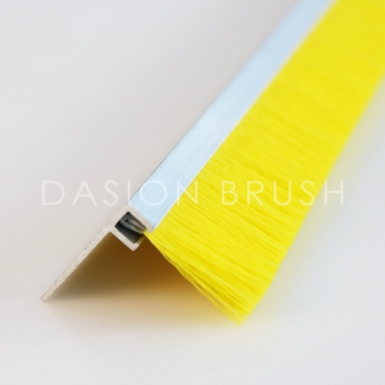 F Shape Channel Door Seal Brush Door Weather Striping